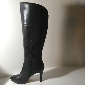 Audrey Brooke Black High Heel Boots • 8